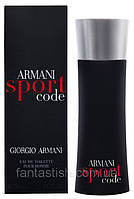 Мужская туалетная вода Giorgio Armani Armani Sport Code (Армани Спорт Код) - освежающий аромат с мятой AAT