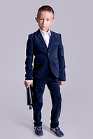 Вельветовый костюм на мальчика (2 цвета; размеры 110-116; 116-122; 122-128; 128-134; 134-140; 140-14