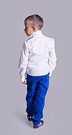 Рубашка на мальчика (4 цвета; Размер 110-116; 116-122; 122-128; 128-134; 134-140; 140-146)