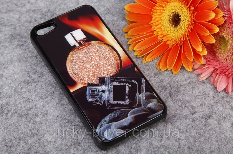 Чехлы для iPhone 5 5S Парфюм Swarovski
