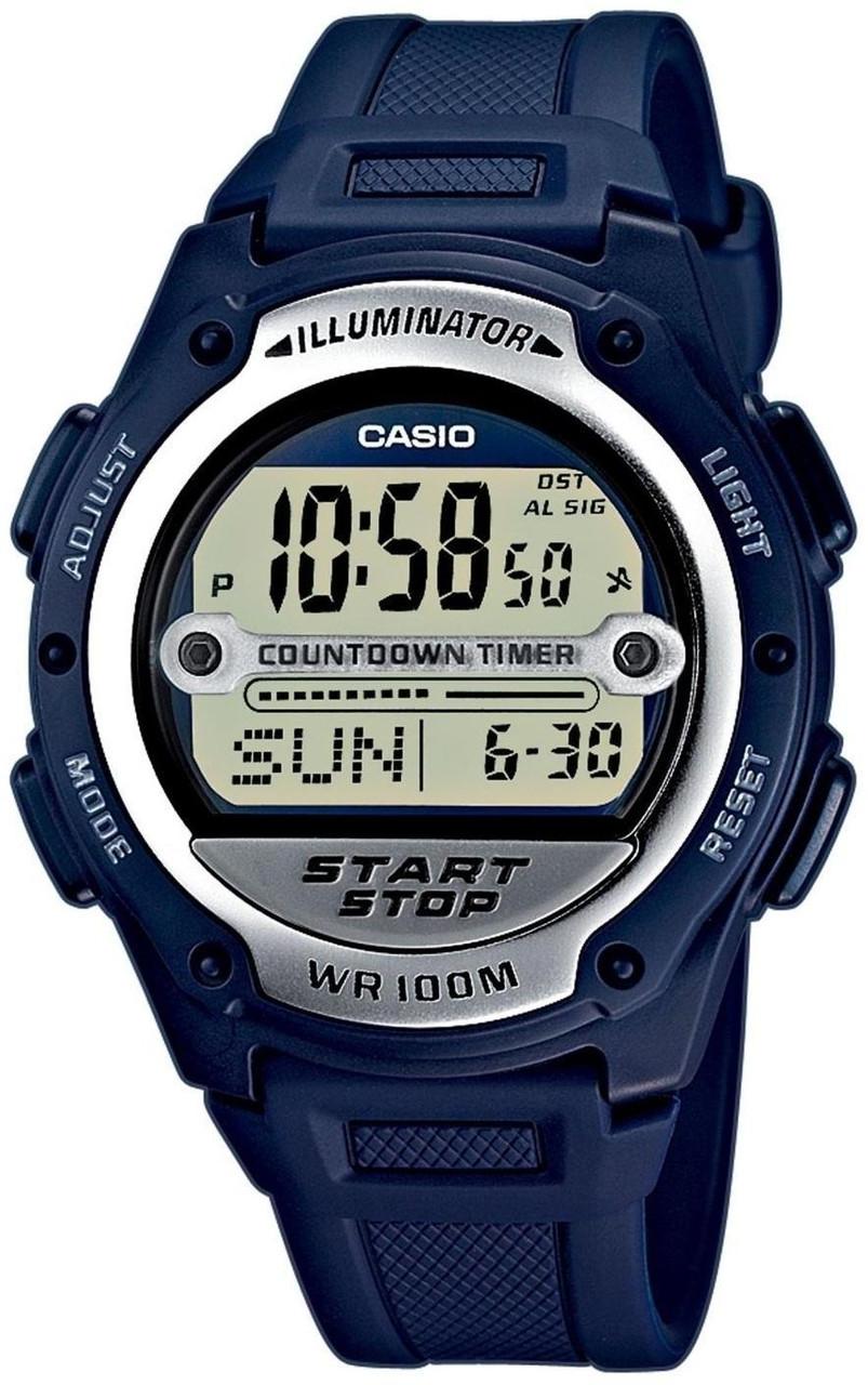 Наручные мужские часы Casio W-756-2AVEF оригинал