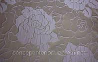 """Жаккардовая ткань для штор в современном стиле """"Eleonore Rose"""""""