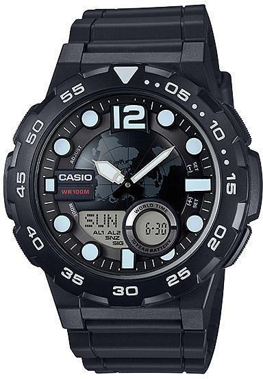 Наручные мужские часы Casio AEQ-100W-1AVEF оригинал