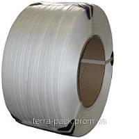 Стрічка поліпропіленова 16мм*0,6мм*1,8км біла (первинка)