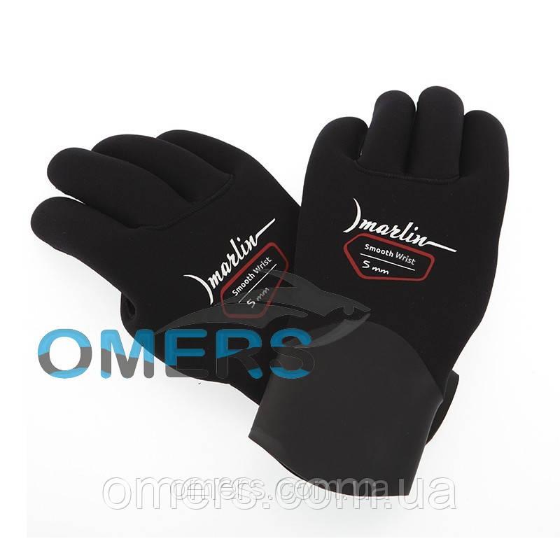 Перчатки Marlin Smooth Wrist Duratex 5 мм