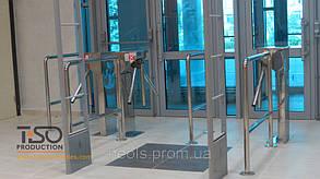 Турникет трипод полуростовой CENTURION, шлифованная нержавеющая сталь в Киеве, фото 2