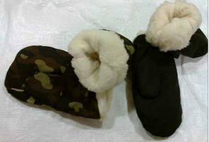 Меховые рукавицы, фото 2