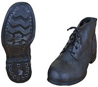 Ботинки рабочие кирзовые гвоздевые
