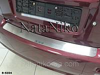 Накладки на задний бампер SX4 4D весь модельный ряд