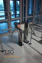 Турникет трипод полуростовой CENTURION, полированная нержавеющая сталь, фото 2