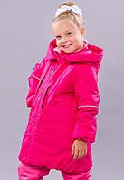 Пальто зимнее Be easy active на девочку 5-10 лет (мембранная ткань, Slimtex+холлофайбер) ТМ Be easy 128