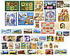 2013 год комплект художественных марок