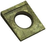 Шайба DIN 6917 косая квадратная с проточкой высокопрочная, фото 1