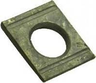 Шайба DIN 6918 косая квадратная с двумя проточками  высокопрочная, фото 1