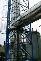 Дымоход для газового котла к отопительным установкам работающим на природном газе