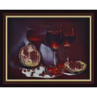 Набор для вышивания Картины Бисером Р-013 Гранатовый сок