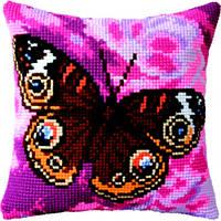Набор для вышивки подушки РТ-168 Павлиний глаз