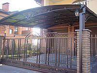 Ворота кованые (модель №018)
