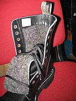 Ботинки Steel зима 105/106 OCW Black ( черевики , зимние , зимові , мех , хутро , флис , вовна , шерсть ).
