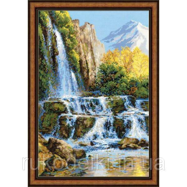 Вышивки риолис водопад