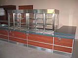 Стол тумба холодильная с холодильным кубом надставкой, фото 3