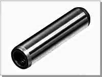 Штифт 12*80 DIN 7978 конический (EN ISO 8736) с метрической внутренней резьбой на одной стороне. ГОСТ 9464