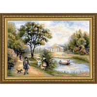 Набор для вышивки крестом Риолис 1527 Прогулка в парке