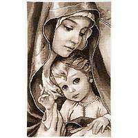Набор для вышивки крестом Alisena 1213а Мадонна с ребенком