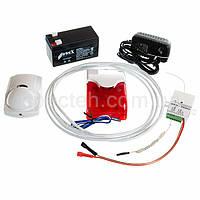 GSM сигнализация для гаража с датчиком движения