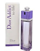 Туалетная вода Christian Dior Addict To Life (Кристиан Диор Эддикт Ту Лайф)- цветочный аромат AAT