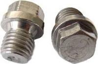 Пробка резьбовая цилиндрическая М16*1,5 DIN 910 с шестигранной головкой и фланцем.