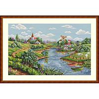 Набор для вышивания крестом Мережка К-57 Весенний пейзаж