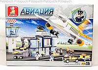 Детский конструктор Аэропорт Sluban M38-B0367