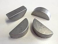 Шпонка сегментная 6*10 DIN 6888 (ISO 3912) ГОСТ 24071-97.