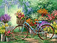"""Набор алмазной вышивки (мозаики) """"Весенние цветы"""". Художник Dona Gelsinger"""
