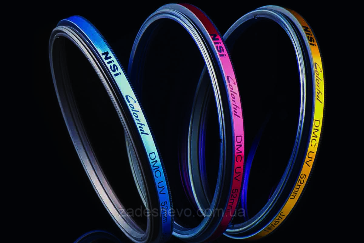 Цветные фильтры NISI Colorful UV Series 46 мм