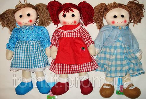 """Кукла мягконабивная, тканевая, """"Кухарочка"""", большая, цвет бирюза, фото 2"""