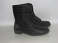MODE QWEEN _ _стильные ботинки с шипами _ 38р _24 см Н32