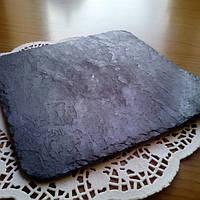 Тарелка (дощечка) Камень Серая (11*11 см)