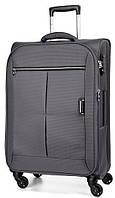Тканевый чемодан-гигант 4-колесный 104/117 л. March Quash 2001/08, серый