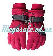 Перчатки горнолыжные женские Winter Race (перчатки лыжные): розовый/фиолетовый