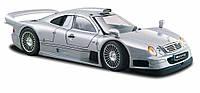MAISTO Автомодель (1:26) Mercedes CLK-GTR street version серебристый