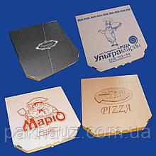 Коробка для пиццы диаметром 35 см