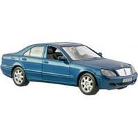MAISTOАвтомодель (1:26) 2002 Mercedes-Benz S-Class серебристо-синий