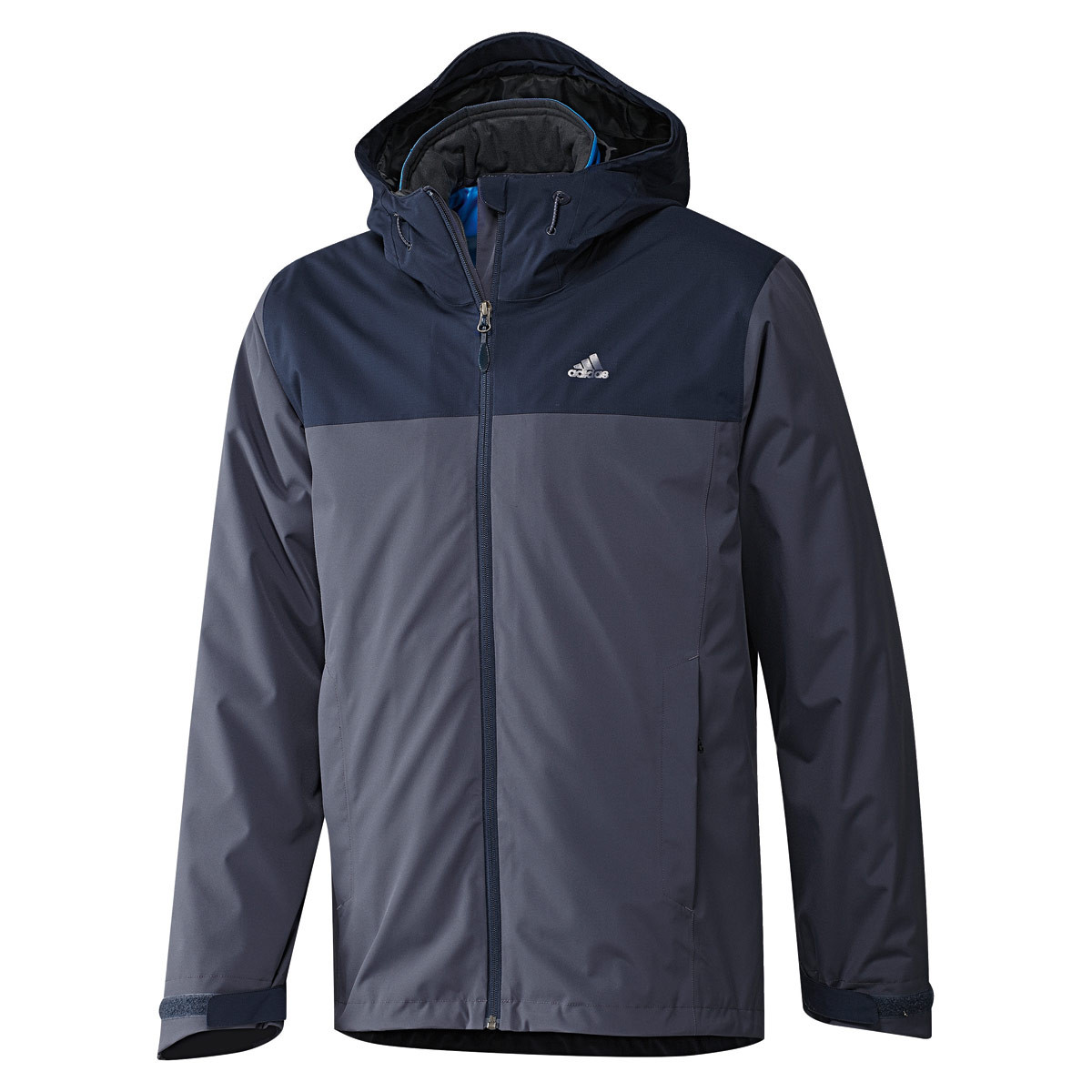 Куртка спортивная мужская adidas Men's 3IN1 PADDED WANDERTAG JACKET AA1923 адидас