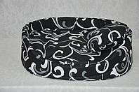 Лежак для котов и собак  из бязи Завиток