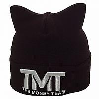 Черная шапка с логотипом ТмТ