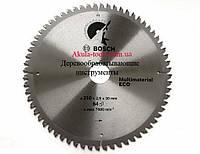 D254 d30 z96 диск Bosch по дереву, пластику, ламинату, алюминию