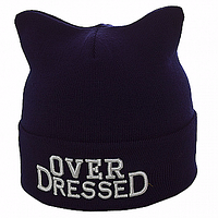 Стильная шапка с логотипом Over DresseD