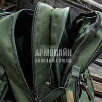 """Рюкзак """"ШТУРМ"""" 20л (ANTITERROR) OLIVE, фото 3"""